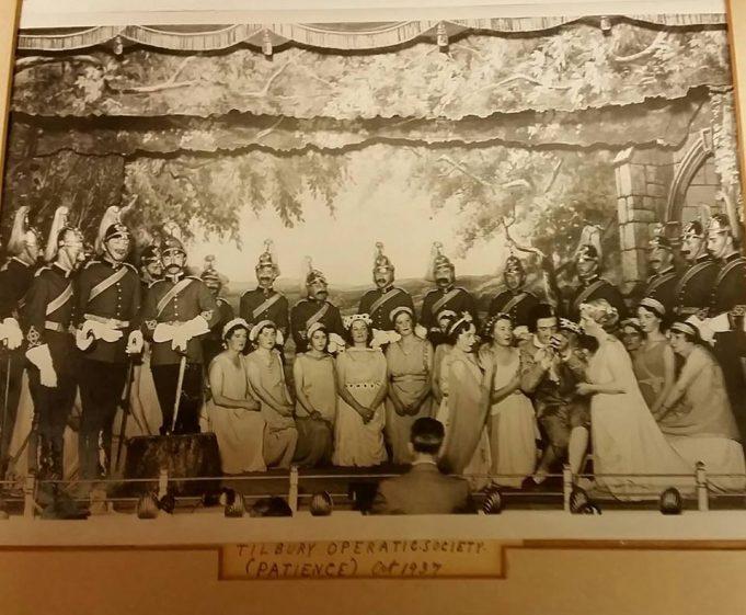 Tilbury Operatic Society. 1937.