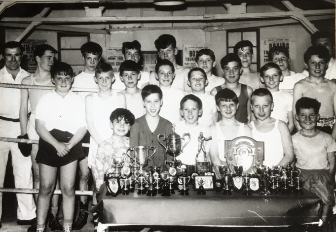 Tilbury Dockers Boxing Club circa1961/2