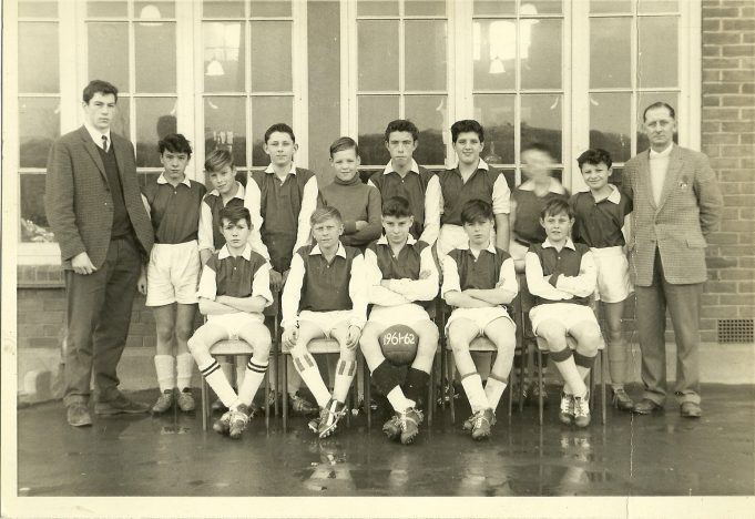 St Chads Football team 1961-62