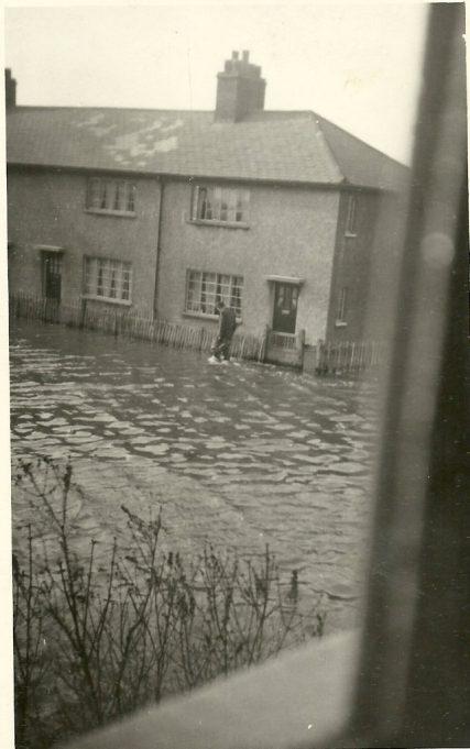 Kipling Avenue under water