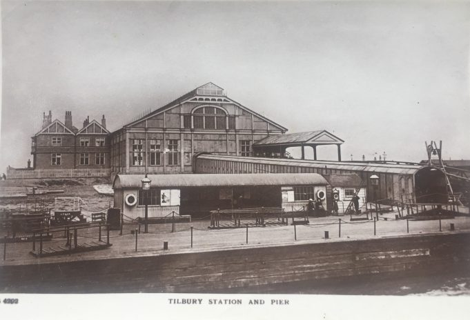 Postcard Riverside Station and Pier | Graham Sutcliffe