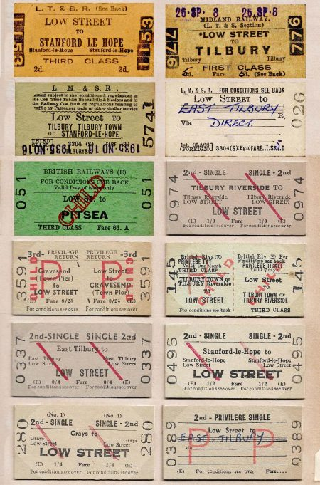 Low Street station tickets