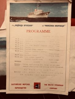 The cruise programme