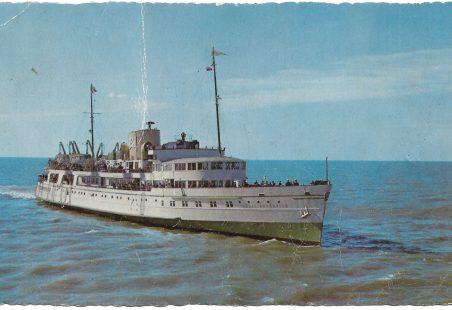 Eagle Steamer Post Card c1959/60