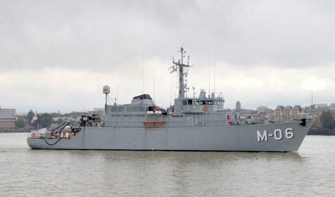 M06 Latvian minesweeper  LVNS TALIVALOIS   Jack Willis