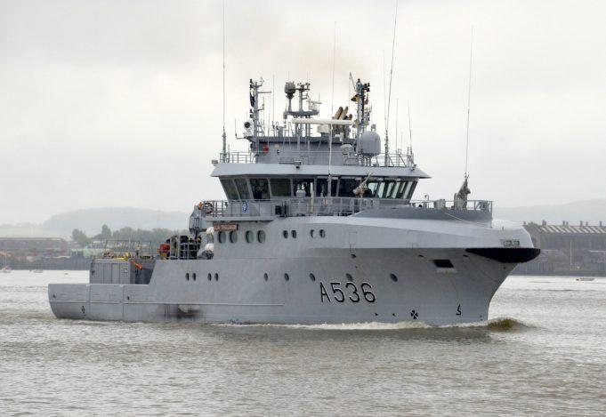A536   Norwegian patrol vessel   HNOMS OLAV TRYGGVASON   Jack Willis